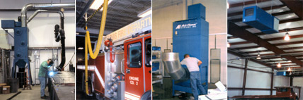 Dust Collection Applications