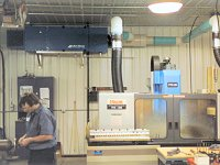Vertical Mazak Mist Collector